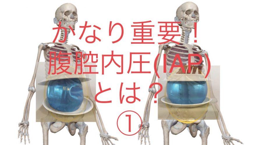 腰痛はIAPを高めないと治りません!①